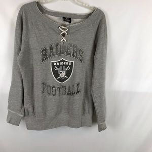 NFL Team Raiders Sweatshirt Size Women M